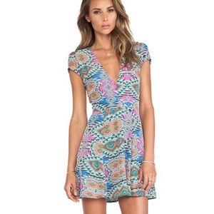 Lovers + Friends NWT Cassidy Mosaic dress size L
